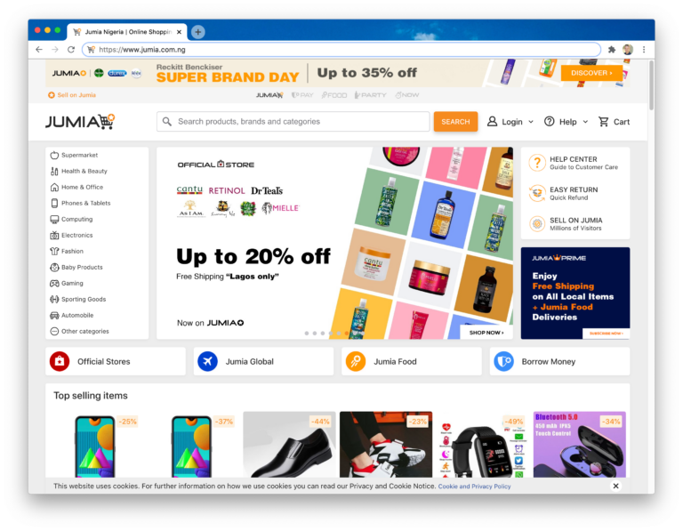 Jumia Nigeria Online Shopping for Groceries, Appliances & More! 2021-03-25 08-32-47